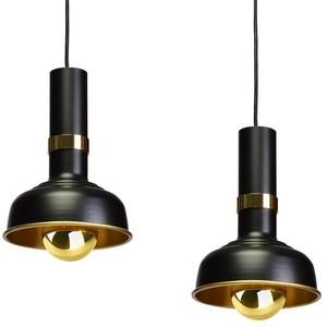 Závěsná lampa Margo Black / Gold 3x E27 small 4
