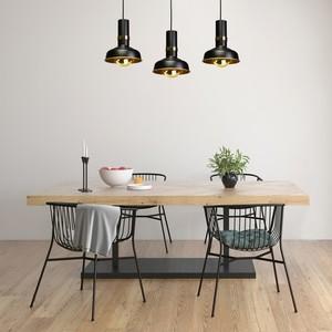 Závěsná lampa Margo Black / Gold 3x E27 small 5