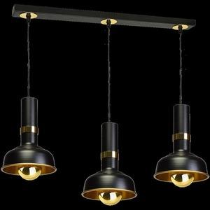 Závěsná lampa Margo Black / Gold 3x E27 small 8