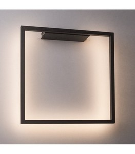Moderní nástěnná lampa AKIRA černá small 0