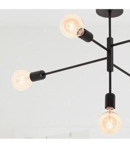Černé stropní svítidlo ALTA small 1
