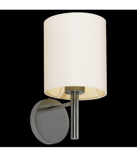 BACH Nástěnná lampa nikl / ecru