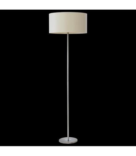 BACH Stojací lampa nikl / ecru