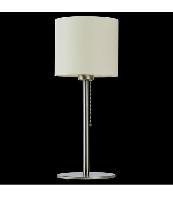 BACH stolní lampa, nikl / ecru