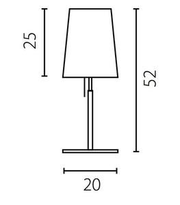 BELL Noční lampa small 2