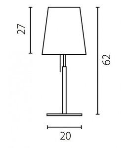 Kancelářská lampa BELL small 2