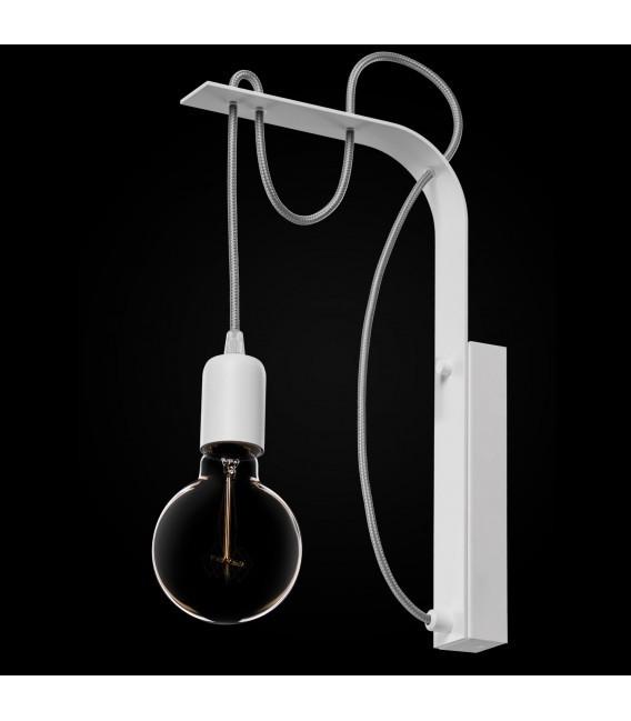 BORNHOLM Nástěnná lampa bílá