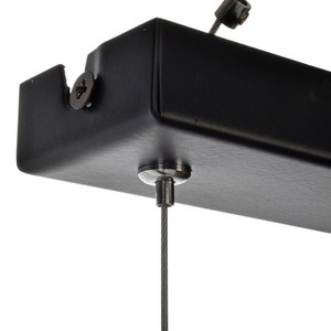 Závěsná lampa Ozzy Black / Wood 4x E27 60 W small 4