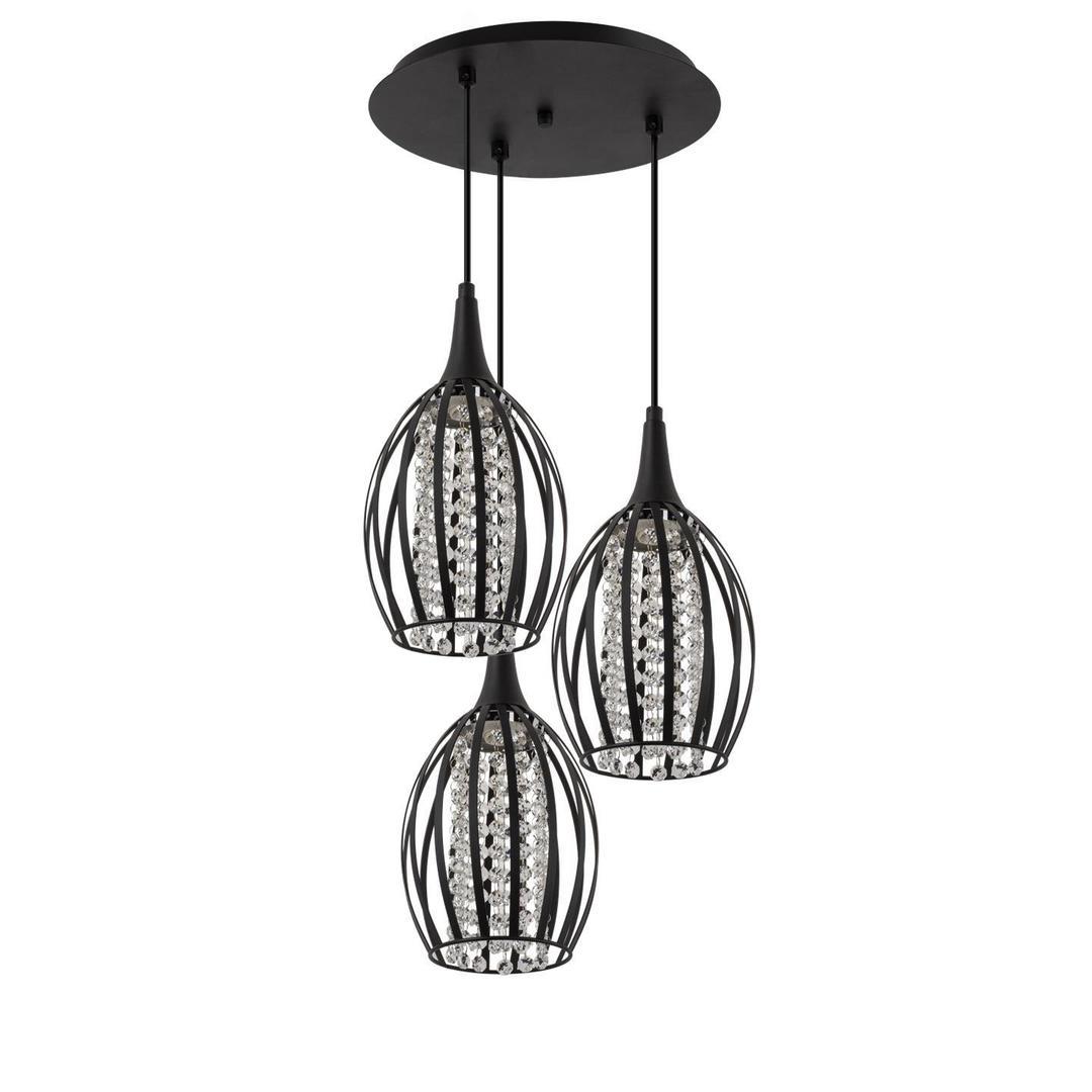 Moderní závěsná lampa Brylant 3 P