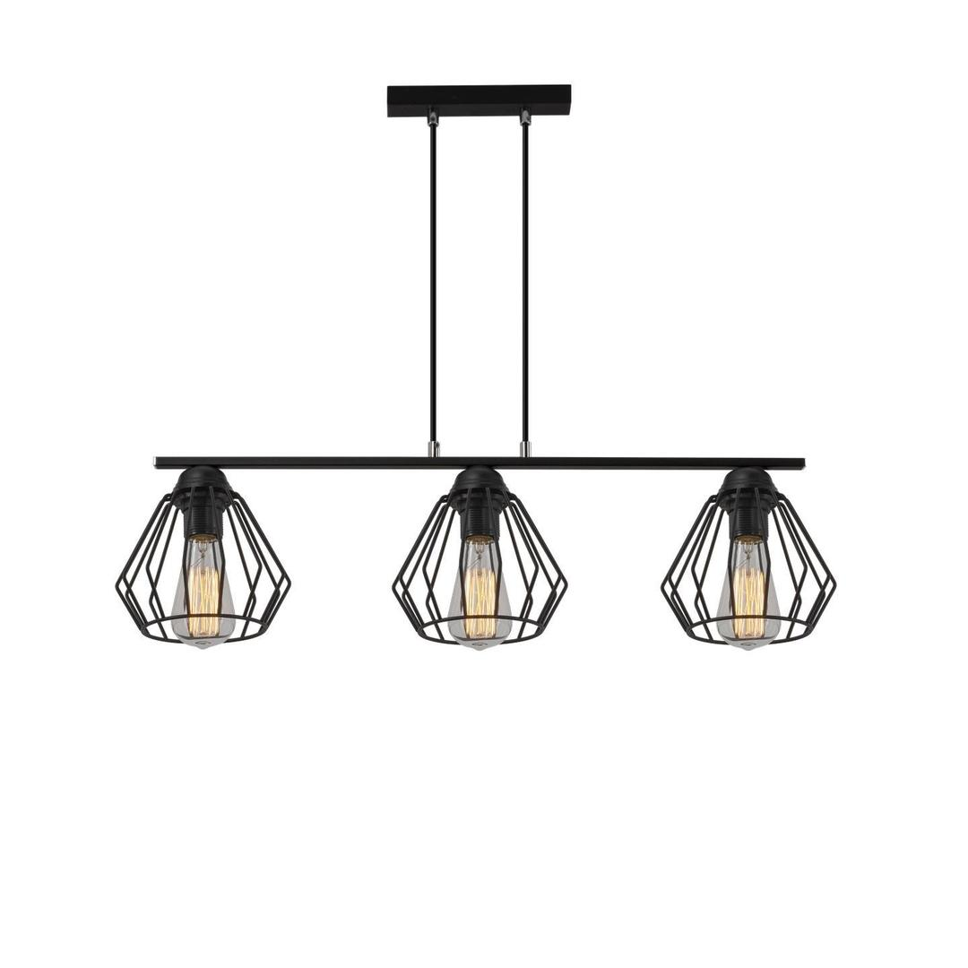 Průmyslová závěsná lampa Deo 3