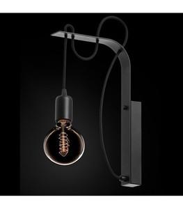 BORNHOLM Nástěnná lampa černá small 0