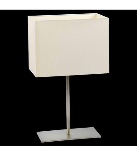 Bílá stolní lampa CRUZ