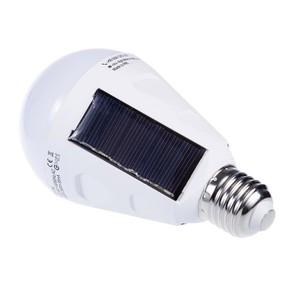 7W solární žárovka E27 small 2