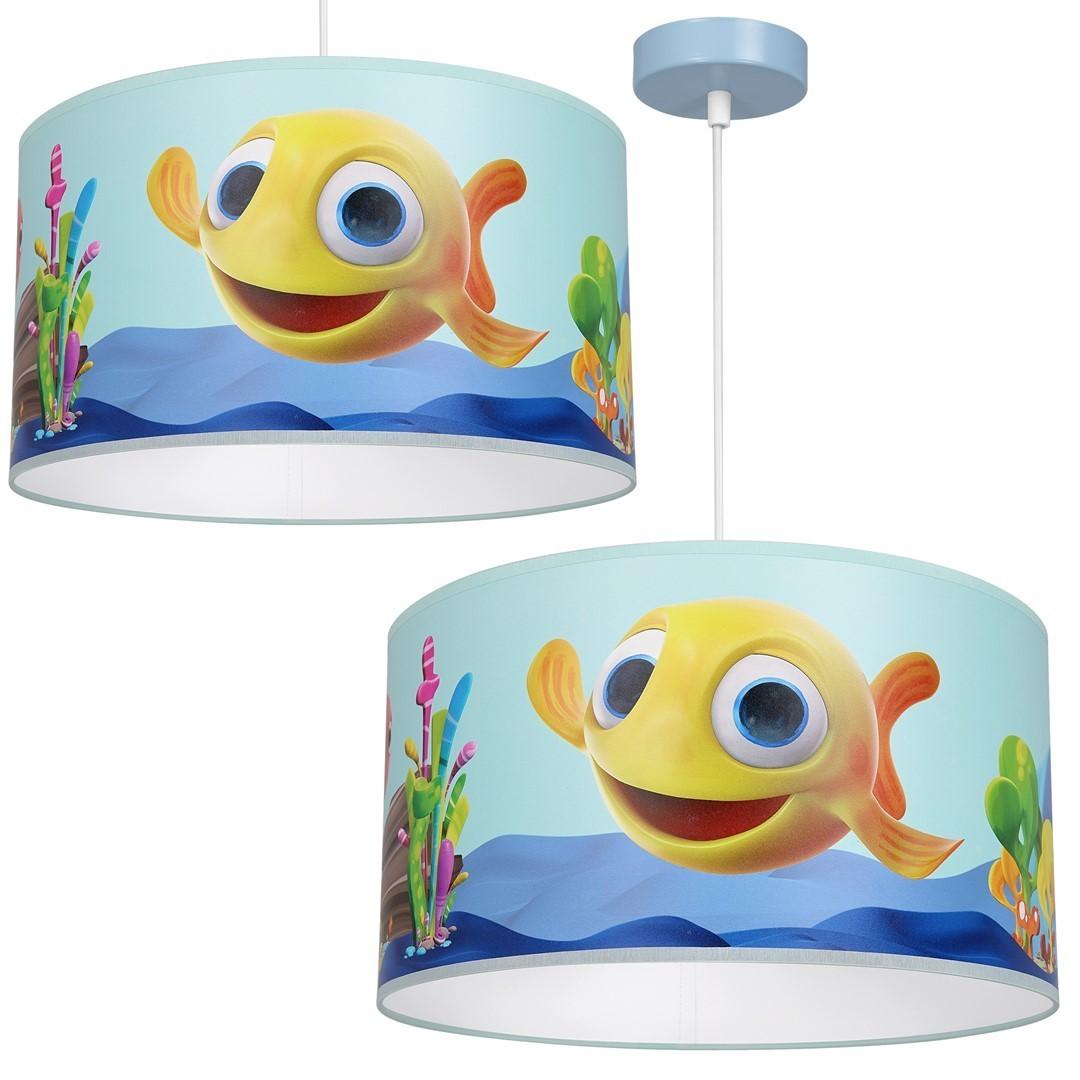 Závěsná lampa Fish Mini 1x E27
