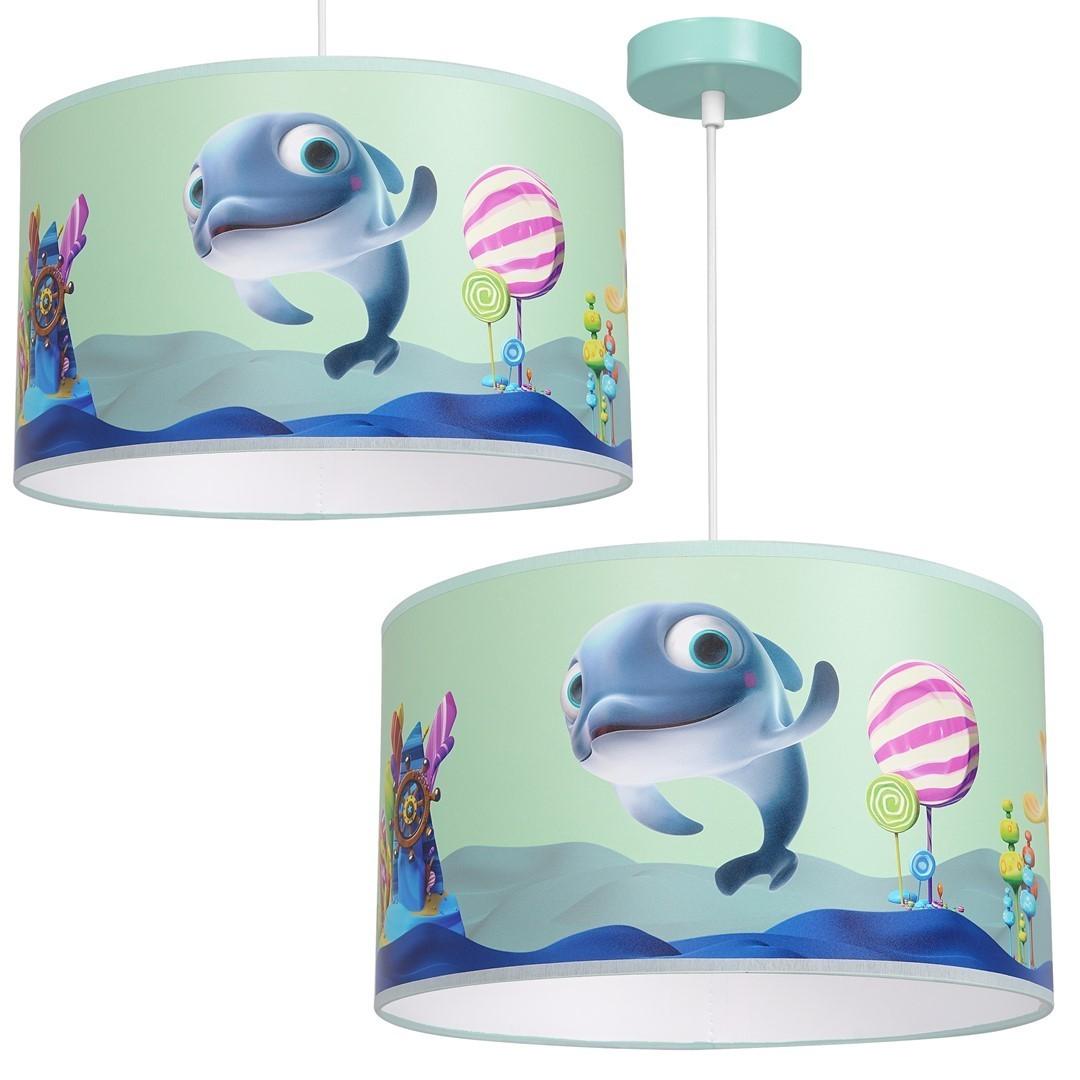 Závěsná lampa Delfinka Finka Mini 1x E27