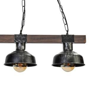 Závěsná lampa Faro Black / Wood 3x E27 60 W small 4