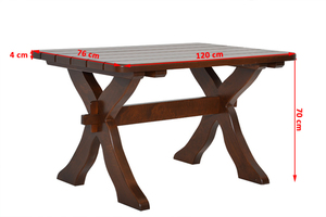 Malý dřevěný stůl small 1