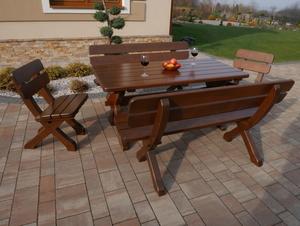 Velký dřevěný stůl small 2