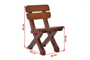 Dřevěná židle small 2