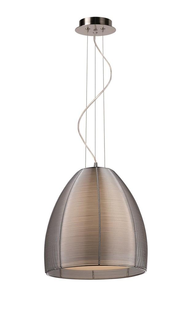 Závěsná lampa Pico Md9023 1 l stříbrná
