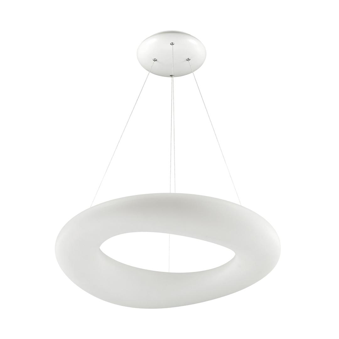 15010003 Lima závěsná lampa bílá / bílá