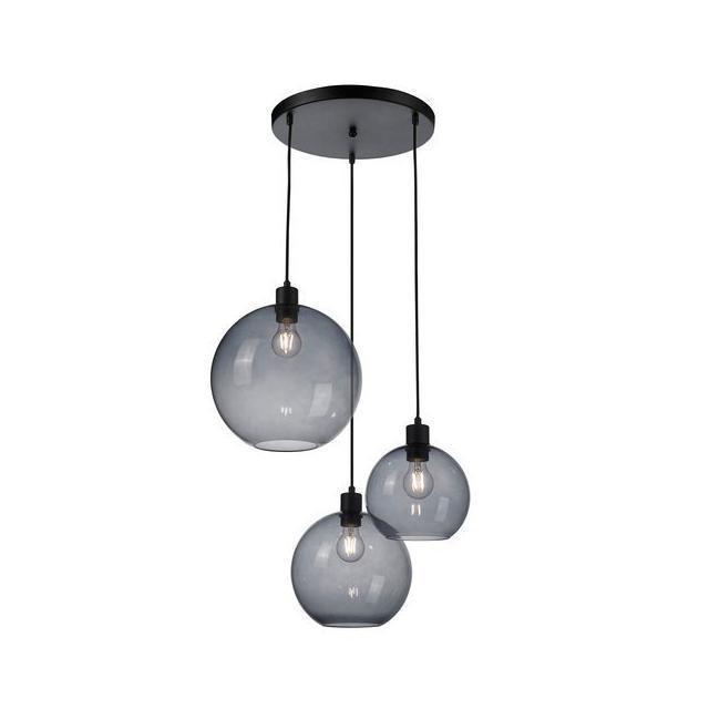 Rld93054 3 lesklá závěsná lampa