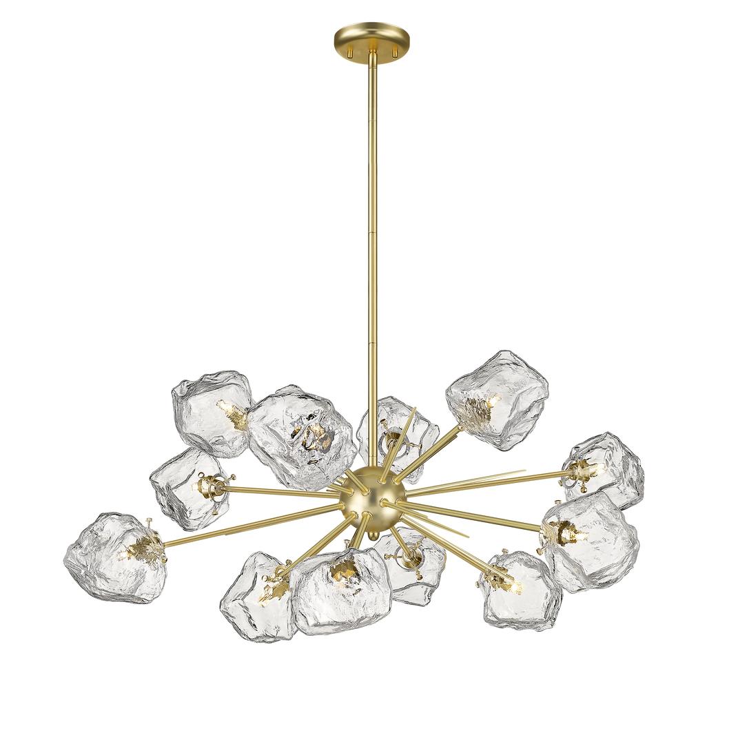 P0488 12P U8 Ac Rock Závěsná lampa zlato / matné zlato