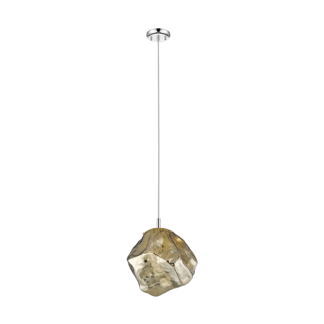 P0488 01 A F4 Hf Rocková závěsná lampa zlato / zlato