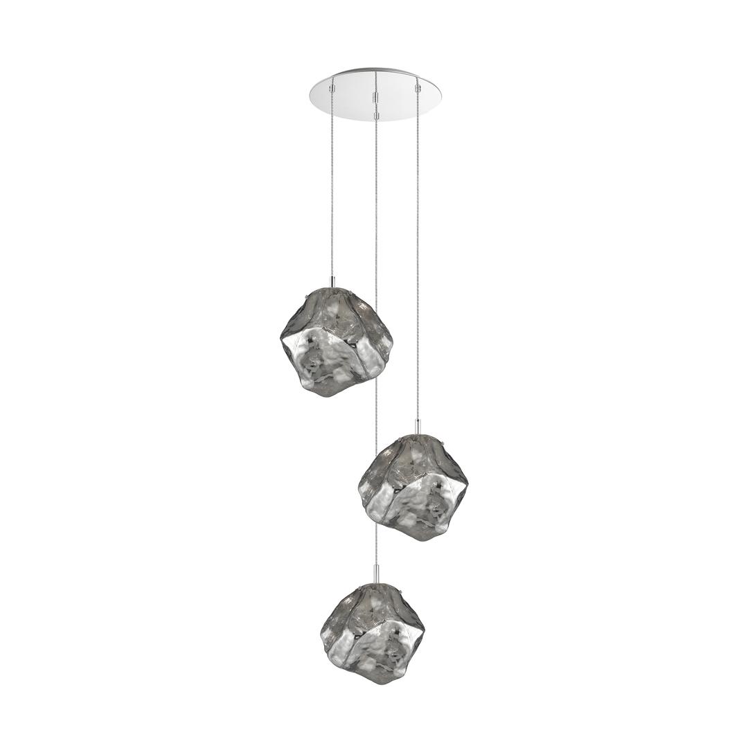 P0488 03 A B5 Fz Rocková závěsná lampa chrom