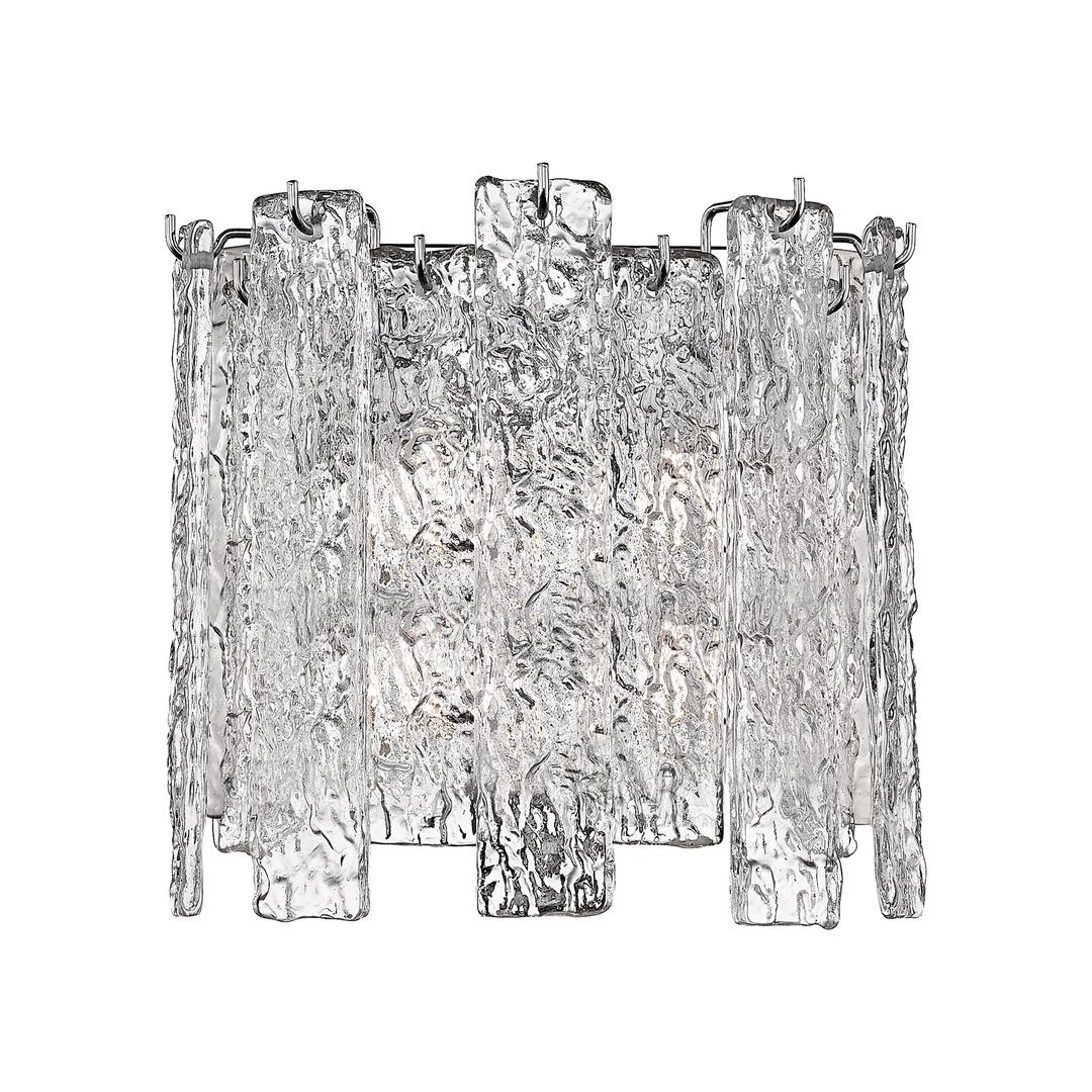 W0509 02 A B5 Ac Froze Wall Lamp Clear