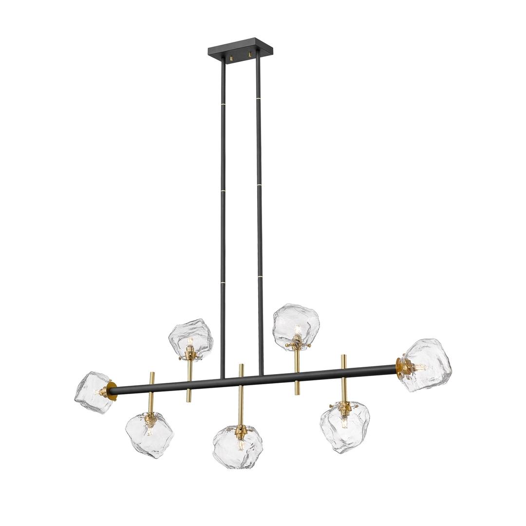 P0488 07 T Seac Rock závěsná lampa Black Mat Gold Mat / Matt Black Matt Gold