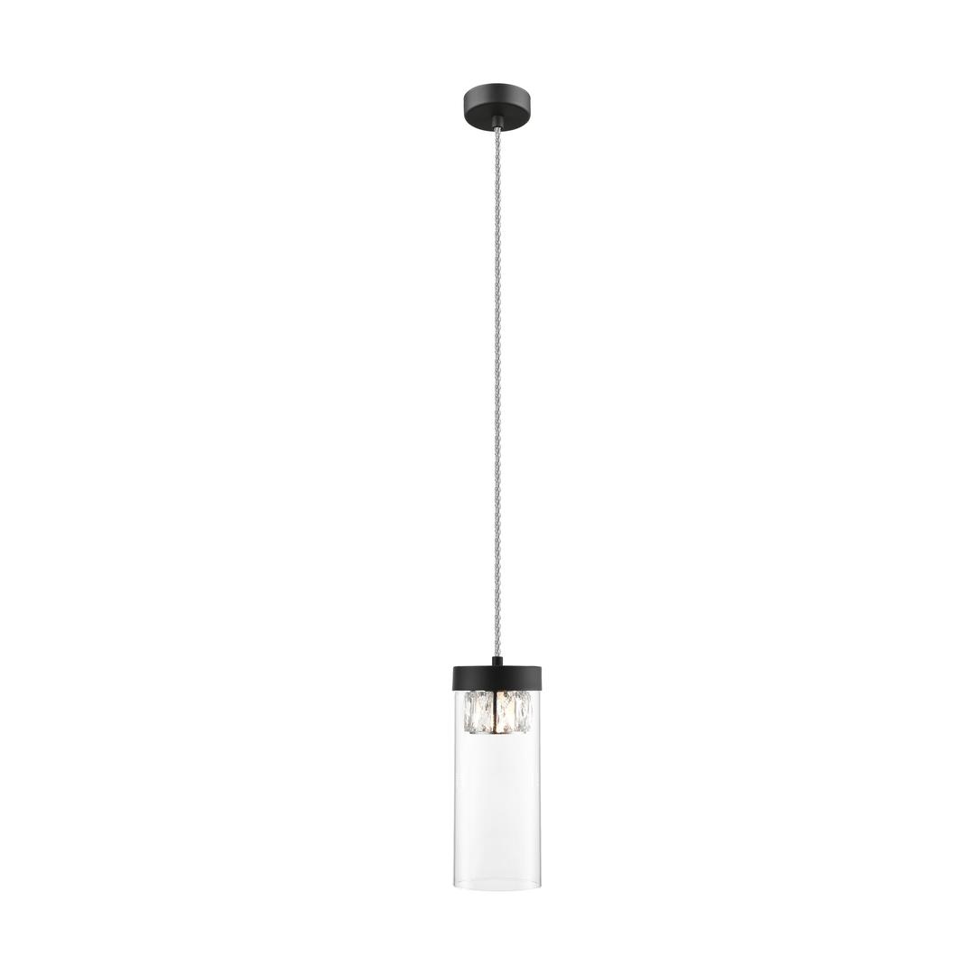 P0389 01 D P7 Závěsná lampa Gem Gem Matte Black / Matt Black