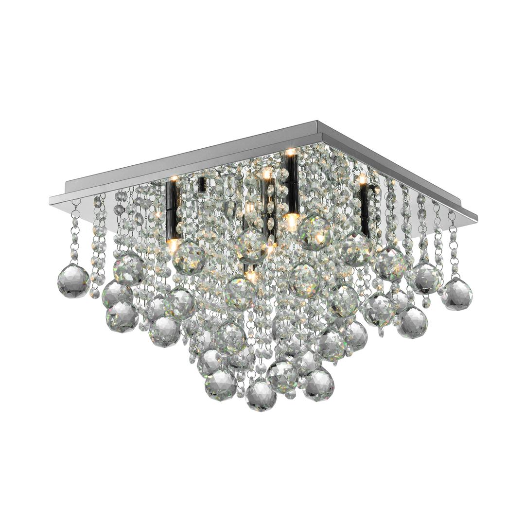 Rlx92711 5 stropní lampa Rangel stříbrná / stříbrná