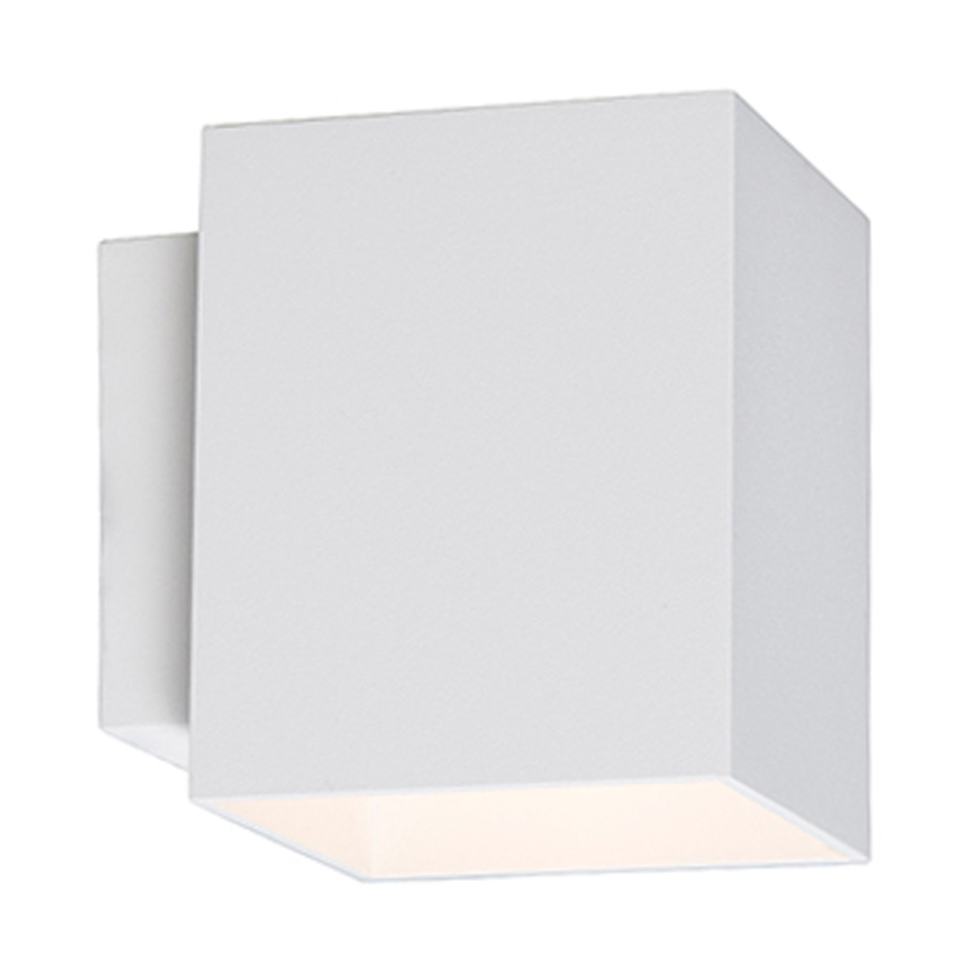 91062 Čtvercová nástěnná lampa Sola Wl bílá / bílá