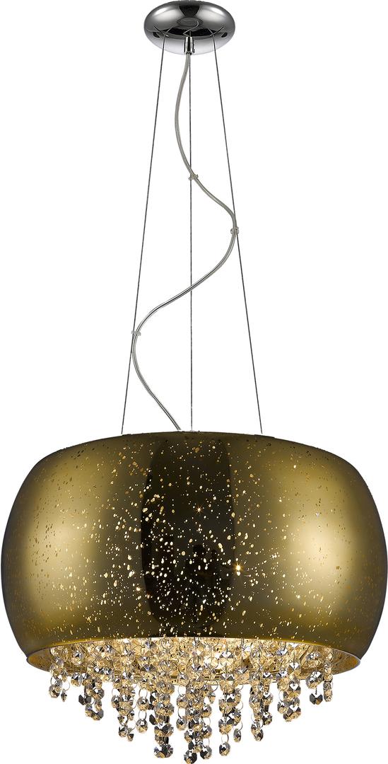 Závěsná lampa P0076 05K F4 Gq Vista zlatá