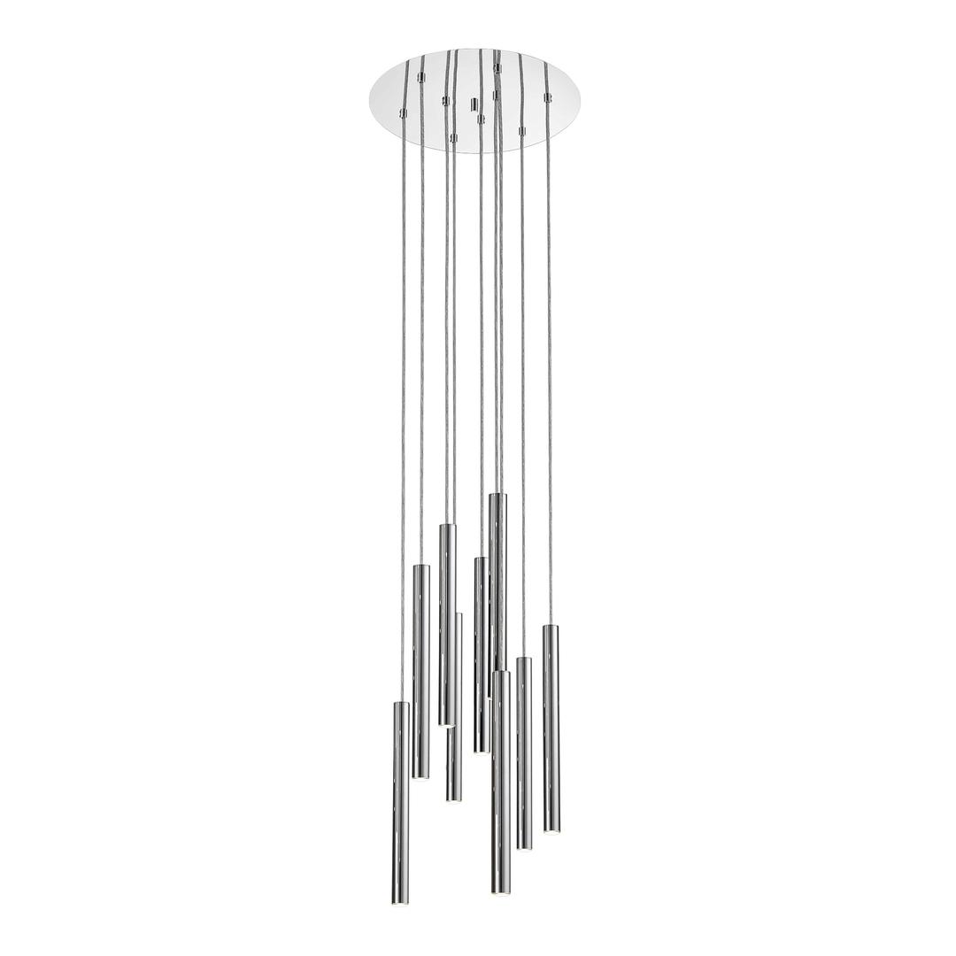 P0461 09 C B5 F4 Závěsná lampa Loya chrom
