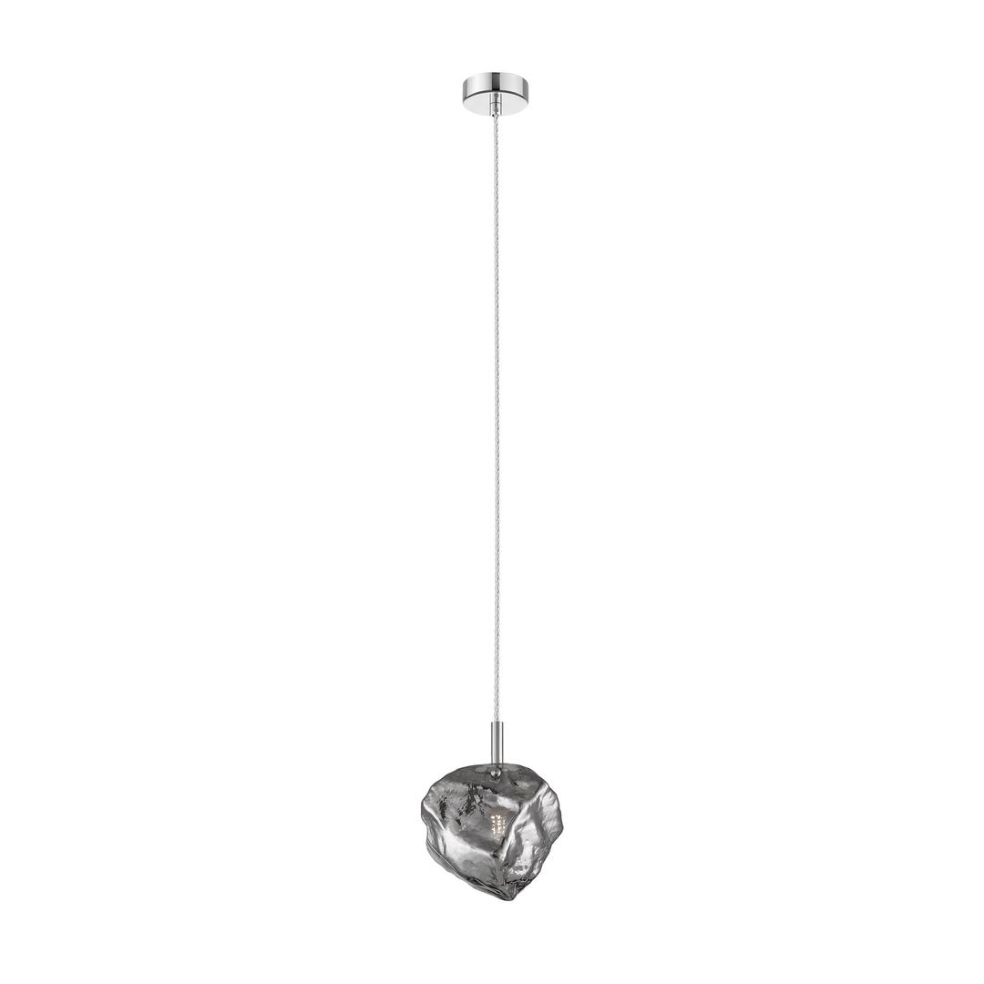 P0488 01 F F4 Fz Rocková závěsná lampa chrom