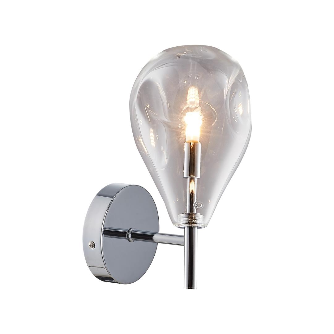 Mb1921 1 Čirá nástěnná lampa Bastoni chrom