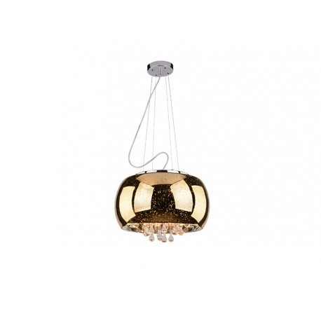 Azzardo Astral AZ1647 42607-5 Závěsná lampa 5x40W G9 zlatá