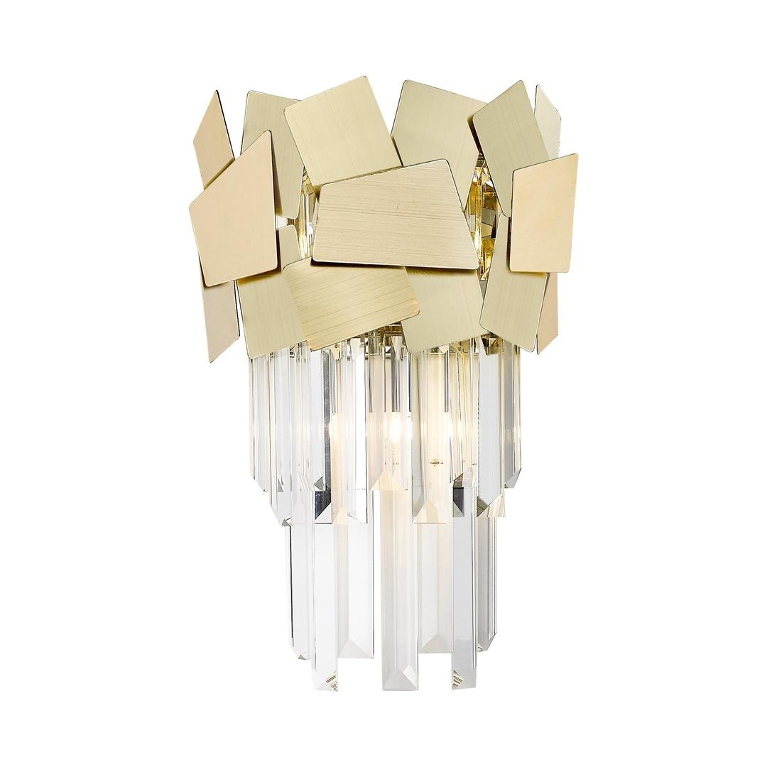 W0506 02 A B5 E3 Quasar nástěnná lampa zlatá / zlatá