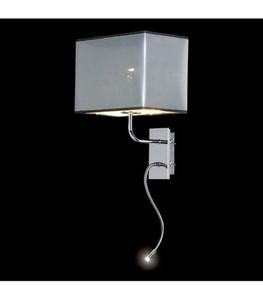 LED nástěnná lampa chrom small 0