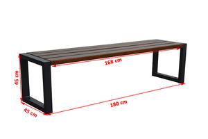 Moderní zahradní lavička small 1
