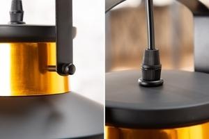 Závěsná lampa INVICTA LUZ I - 28 cm černá a zlatá small 2