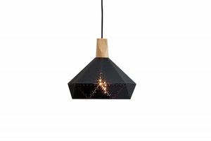 Závěsná lampa INVICTA SCANDINAVIA II - černá small 0