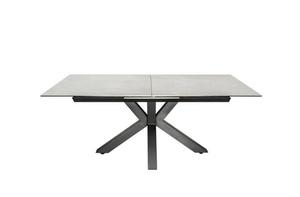 Stůl INVICTA ETERNITY 180-225 beton - sklo, nerezová ocel small 0