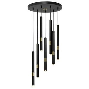 Závěsná lampa Monza Black / Gold 7x G9 8 W. small 1