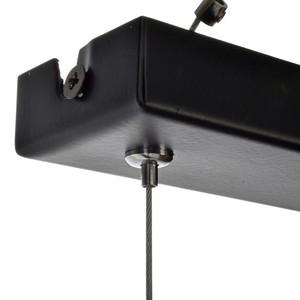 Závěsná lampa Ozzy Black / Wood 3x E27 60 W small 10