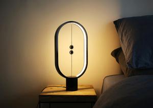 Černá stolní lampa Segula s magnetickým spínačem small 0