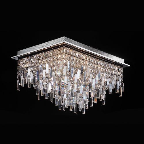 Klasické 16bodové stropní svítidlo Lavenda G4