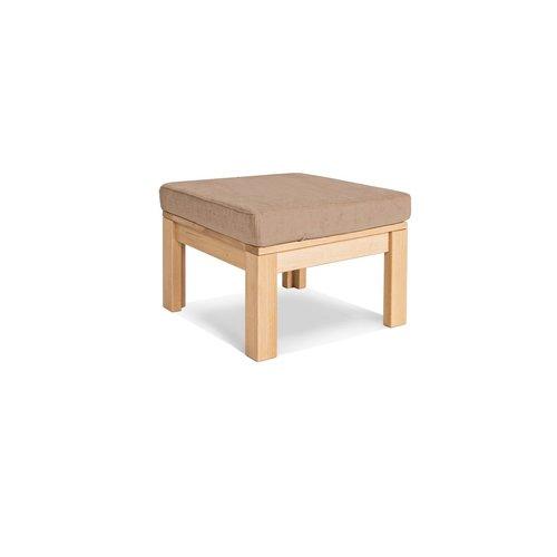 Multifunkční stůl MEXICO s podnožkou, olejované dřevo (lněný olej) - béžový